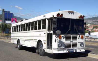 Historia del bús  Transporte turistico